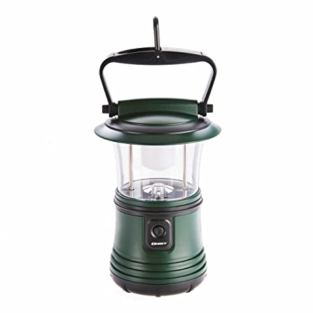Dorcy 200 Lumen Rugged Camping Lantern with Amber Night Light Mode