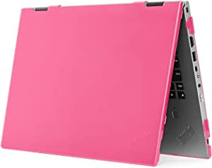 "mCover Hard Shell Case for 2020 14"" Lenovo ThinkPad X1 Yoga (4th Gen) Laptop Computer (Pink)"