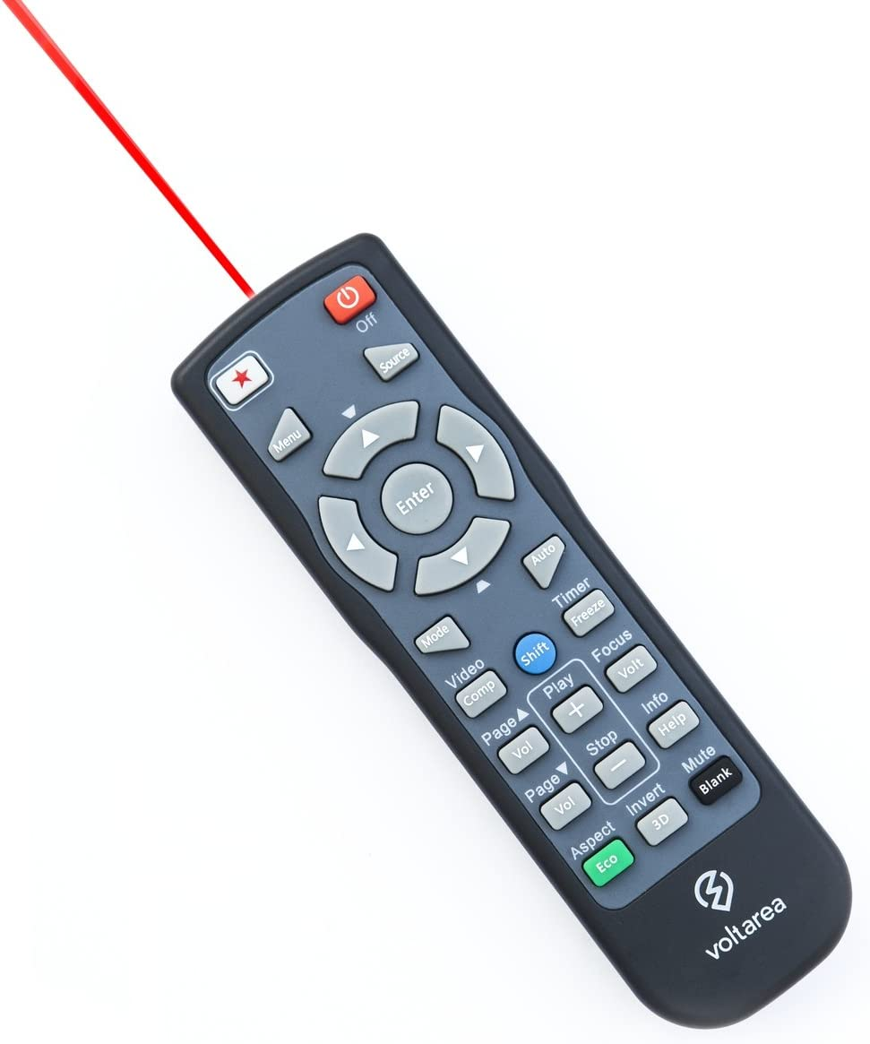 Remote Control for BenQ MW853UST Projector with Laser Pointer