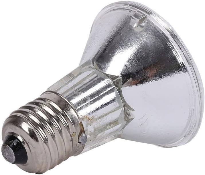 25//50//75//100 Watt UVB Basking Spot Hankyky Reptile Turtle Daylight 220V E27 Full Spectrum Infrared Reptile Pet Glass Heating Lamps Bulb With UVA