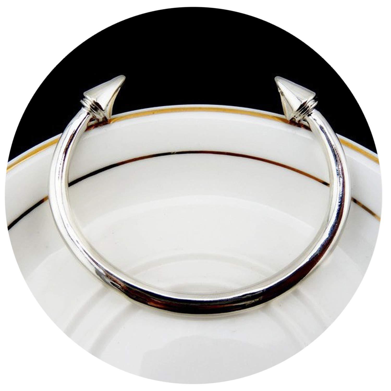Fashion alloy rivets bracelet with a double arrow Bracelet fine lady bracelet,Platinum Plated