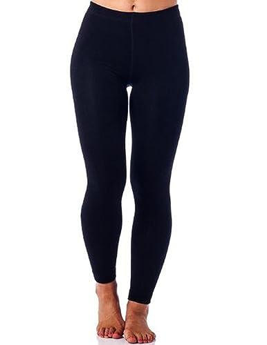 Amazon.com: Gold Medal Womens warm winter fleece lined leggings ...