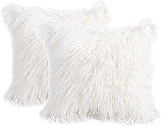 furry pillow covers online