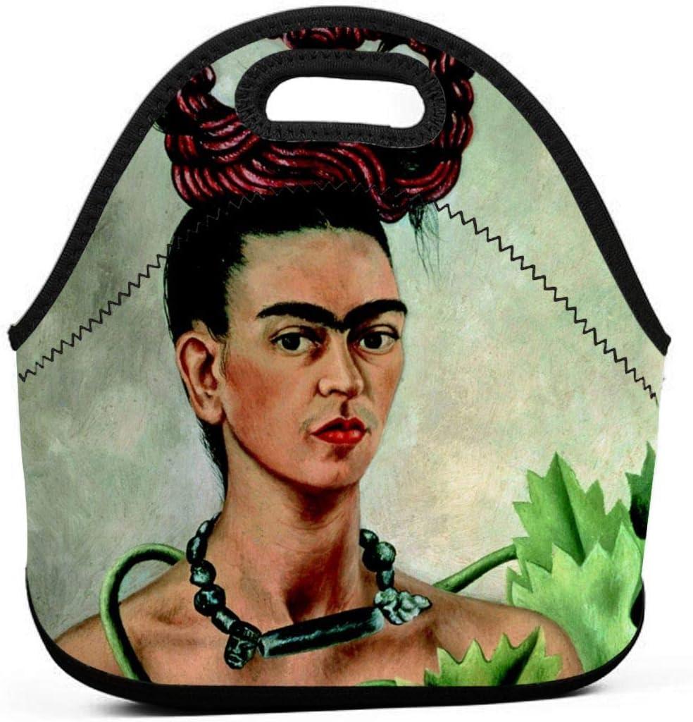 HOLEBUKL Frida-Kahlo Lunch Bag Leichte Lunchtasche Mode Pers/önlichkeit Lunchpaket F/ür Erwachsene Kinder Arbeiten Schule Picknick Reisen Warm Lunch Tasche