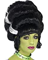 Smiffy's Women's Frankie Wig Bride Of Franky Monster Wig Beehive Pin Up Wig