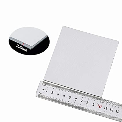 Wathai Off-White 100x100x2 5mm 2 5mm Thermal pad GPU CPU PS3 PS2 Xbox  Heatsink Cooling Silicone Pad Thermal Conductivity 1 5 W/mk