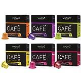 VIAGGIO ESPRESSO - 60 Cápsulas de Café Compatibles con Máquinas Nespresso - SURTIDO 2