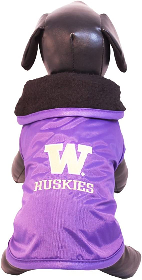 NCAA Washington State Cougars All Weather Resistant Protective Dog Outerwear