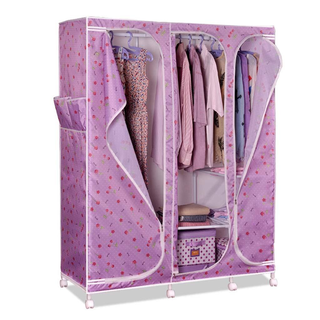 Jian E Tuch Kleiderschrank Oxford Tuch Einfache Kombination Kleiderschrank Große Kleiderschrank Aufbewahrungsbox Garderobenschrank