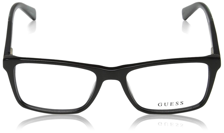 53 mm Lens GU195453001 Shiny Black Lenses Guess GU1954 Eyeglass Frames Shiny Black Frame