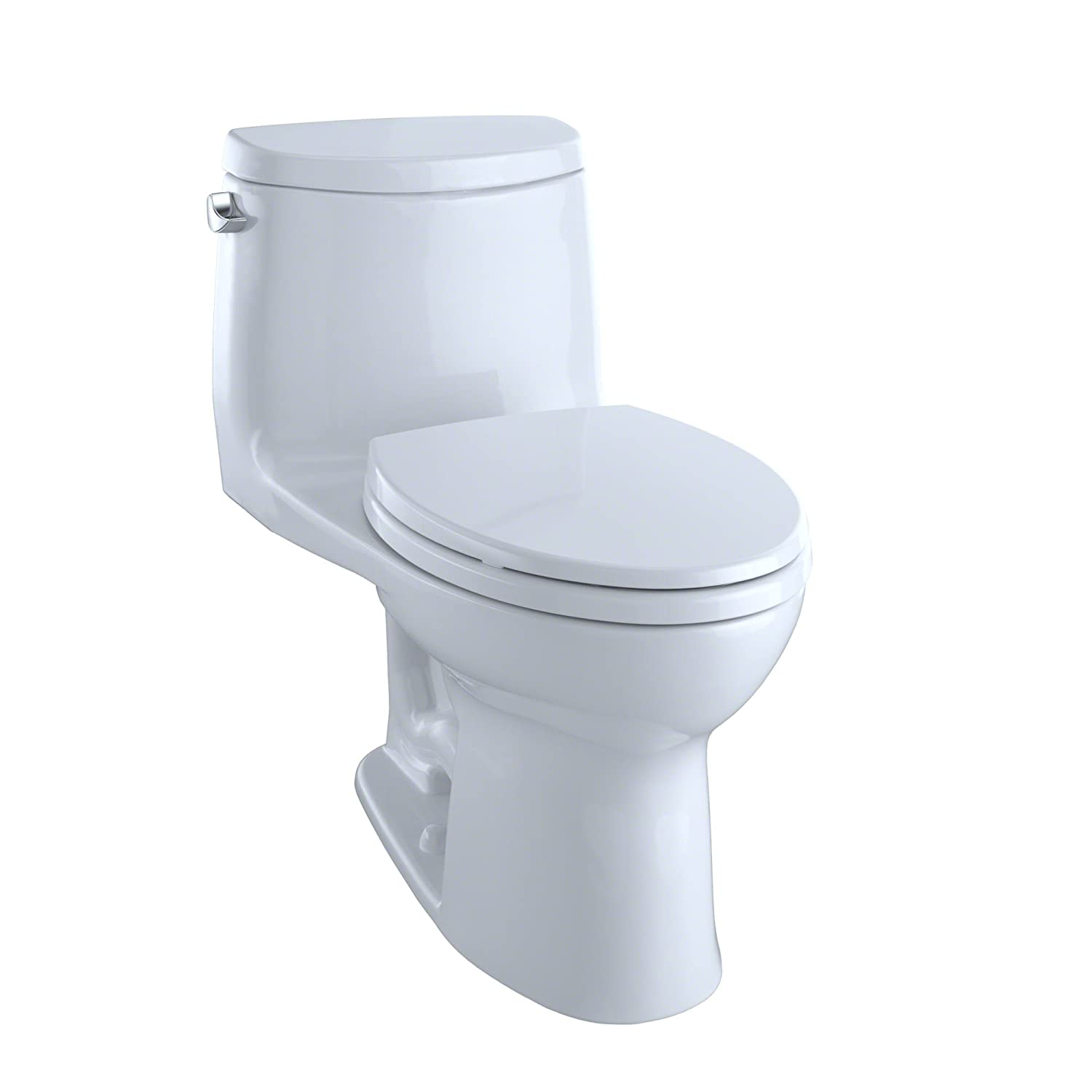 Toto MS604114CEFG#01 Double Cyclone Ultramax II Elongated Toilet