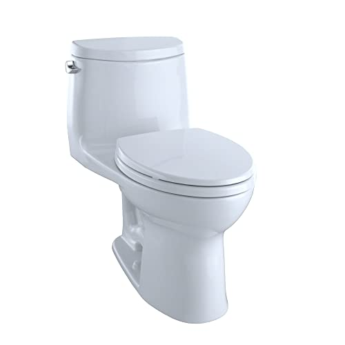 TOTO MS604114CEFG#01 Ultramax II Het Double Cyclone Elongated One Piece Toilet