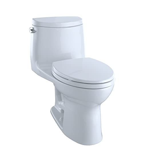 TOTO UltraMax II One Piece Toilet Elongated, Cotton, Toilets ...