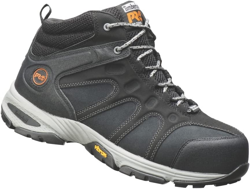 Patológico cubierta Persona  Timberland Pro Wildcard Mid Safety Shoes Black Size 9: Amazon.co.uk: DIY &  Tools