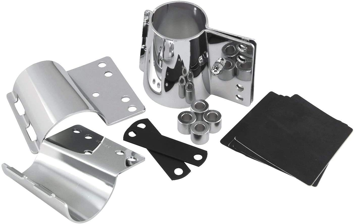 National Cycle SwitchBlade Quick Release Mount Kit Chrome KIT-Q344-001