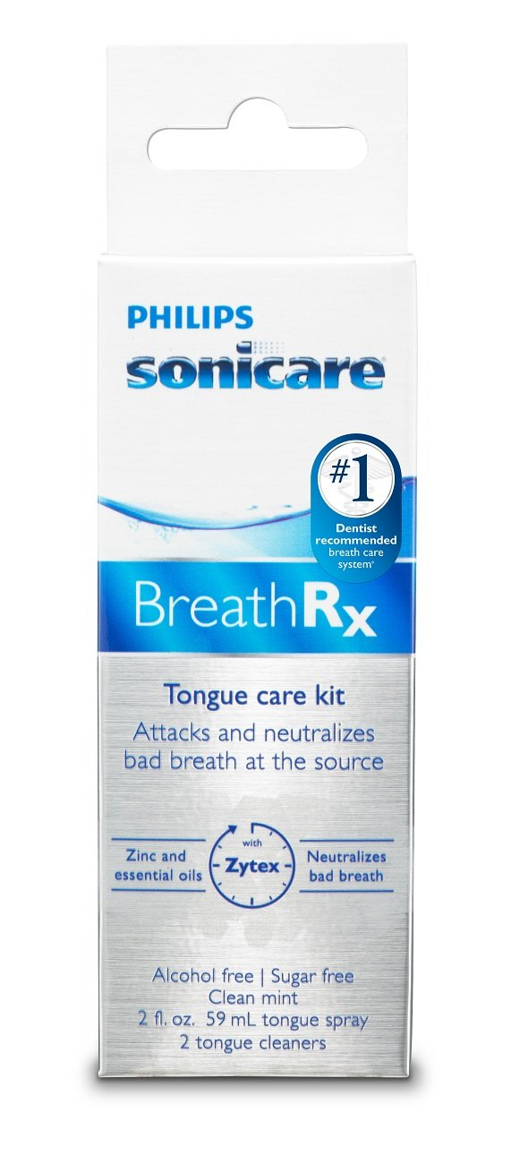 Philips Sonicare BreathRx Daily Tongue Care Kit