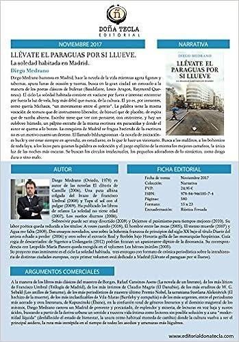 LLÉVATE EL PARAGUAS POR SI LLUEVE: DIEGO MERANO FERNÁNDEZ: 9788494618574: Amazon.com: Books