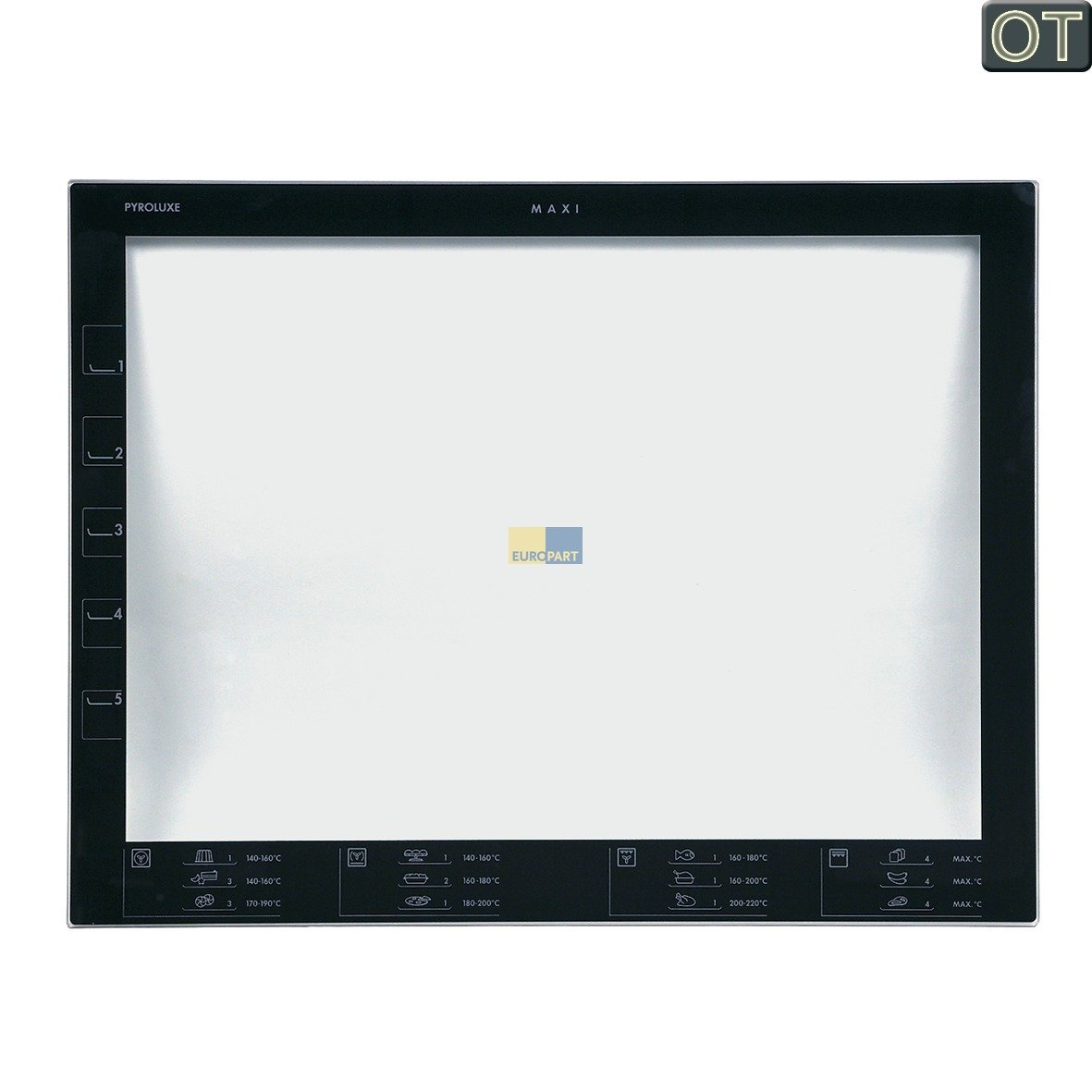 Electrolux - Cristal interior horno AEG BP3013021: Amazon.es ...