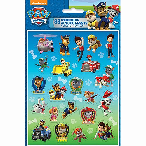 PAW Patrol Sticker Sheets, 4ct