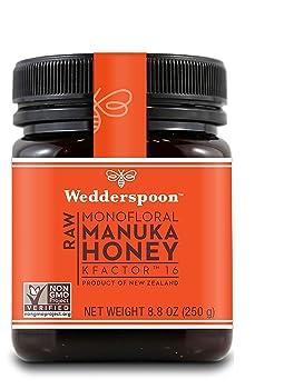 Wedderspoon Kfactor 16 - 8oz Raw Manuka Honey