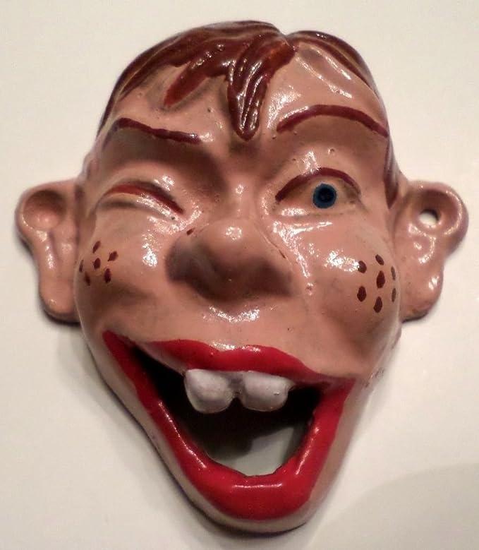 Vintage Cast Iron Wall Mount Beer Soda Pop Howdie Doody Marionette Bottle Opener Kitchen Dining Amazon Com
