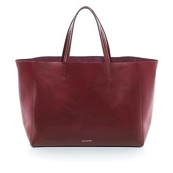 4cf3602efa81f FEYNSINN Handtasche Lange Henkel Leder Jax groß Henkeltasche Damen  Schultertasche echte Ledertasche Damentasche rot