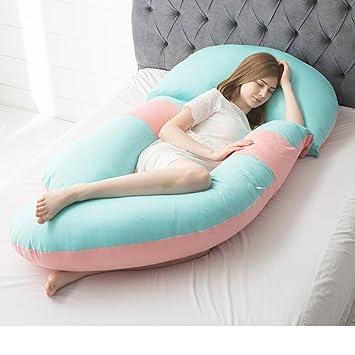Amazon.com: Embarazo Funda de almohada cintura almohada en ...