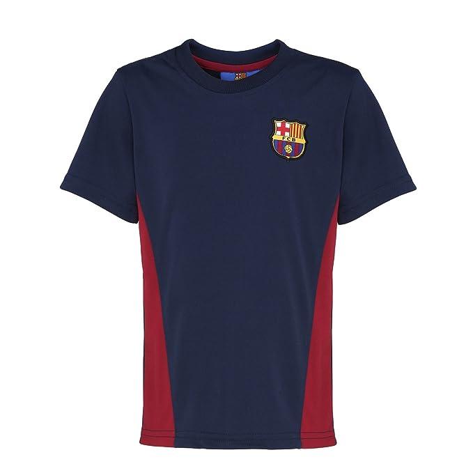 FC Barcelona - Camiseta Oficial del FC Barcelona Manga Corta para niños - Fútbol/Deporte/Gym/Running: Amazon.es: Ropa y accesorios