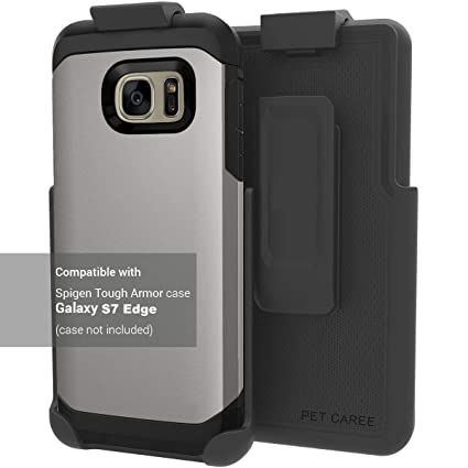 new style 82218 cc9c3 Encased Belt Clip Holster for Spigen Tough Armor - Galaxy S7 Edge [case is  not included]