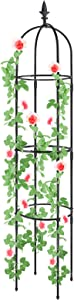 Plant Cages and Supports, Deaunbr Tomato Cage Tall Plant Stakes Heavy Duty Garden Trellis for Indoor & Outdoor Plants, Climbing Plant, Tomatoes, Vegetables, Fruits, Flowers, Pots, Vines -1 Pcs