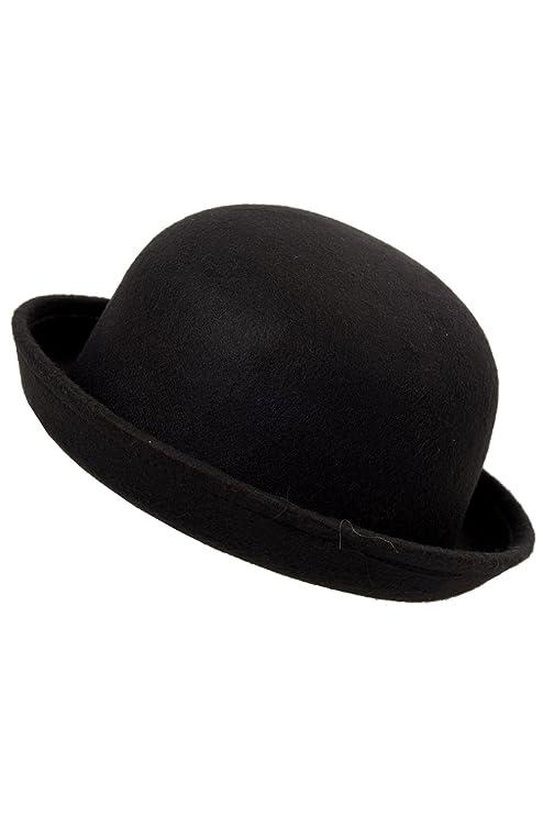 TOOGOO(R) Bombetta in moda carina nera da donna alla moda  Amazon.it ... 147e58463035