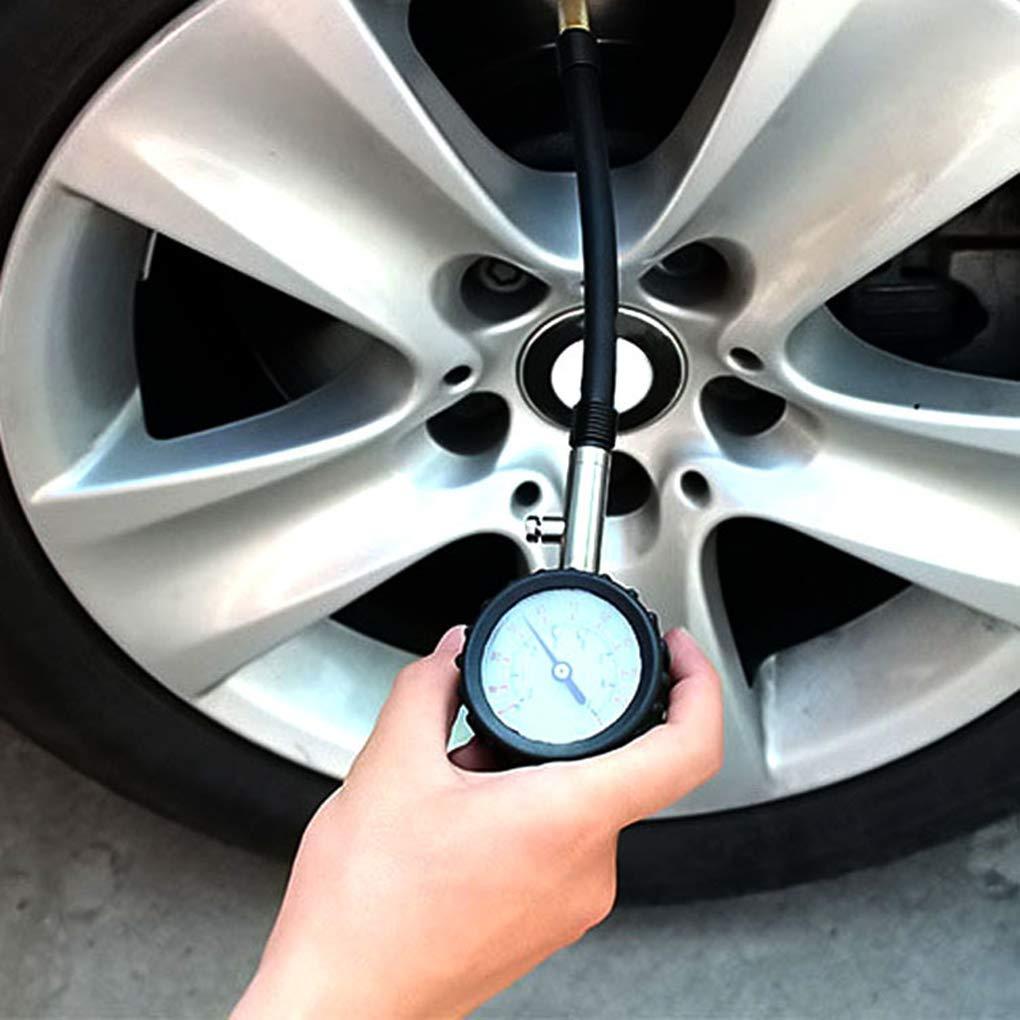 heacker Auto Heavy Duty Reifen Manometer Auto-LKW-Motorrad-Fahrrad-Reifen-Luftdruck-Messinstrument