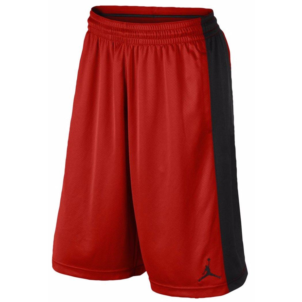 Air Jordan Boys Aj Highlight Dri - Fitバスケットボールショーツレッド/ブラック B00UO23VC8   S (10)