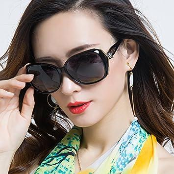 Sunyan Las Nuevas Gafas de Sol de Alto Brillo niñas Cara ...