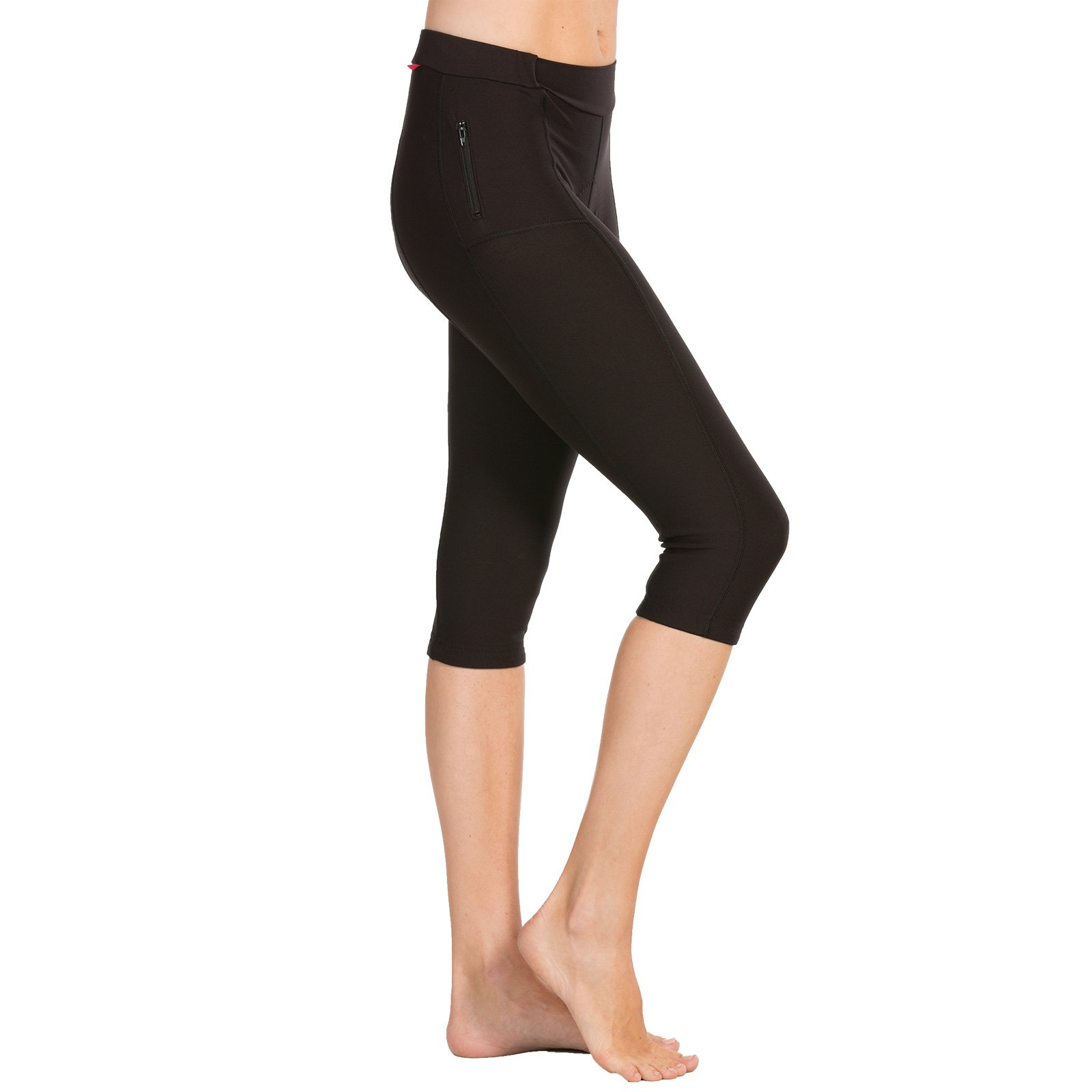 Terry Cycling Knickers for Women Plus Size - One of Our Most Popular Black Bike Bottoms for All-Season Riding - Black - 1X by Terry