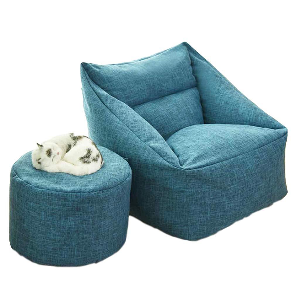 Amazon.com: Waterproof Lazy Bean Bag Sofa Puff Sofas Indoor ...