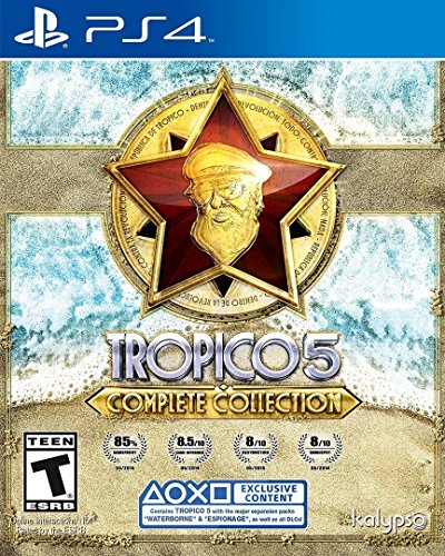 Tropico 5 Complete Collection - PlayStation 4 (Ps3 Civilization)