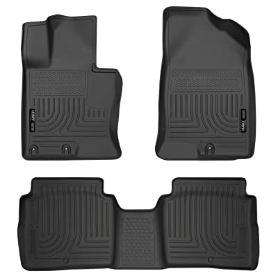 Husky Liners Fits 2011-15 Kia Optima Weatherbeater Front & 2nd Seat Floor Mats: Automotive