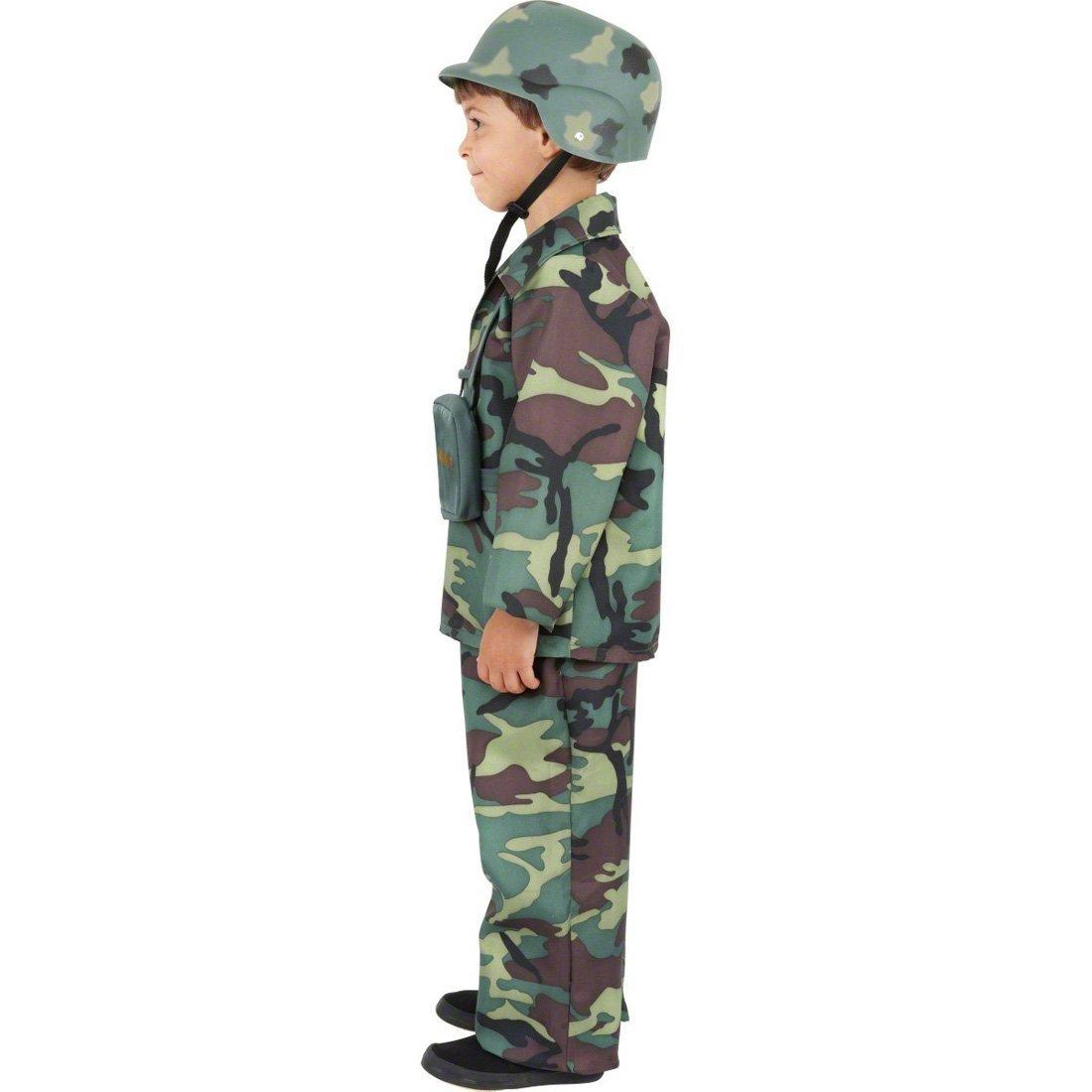 NET TOYS Traje de Soldado para niños Disfraz Militar ...