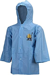 1 In A Minion kids Minions PVC Poncho Raincoat