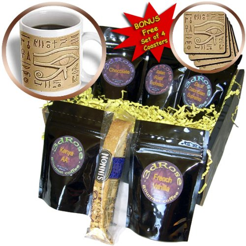 Slate Egyptian - Dezine01 Graphics Egyptian - Heiroglypic Slate - Coffee Gift Baskets - Coffee Gift Basket (cgb_18936_1)