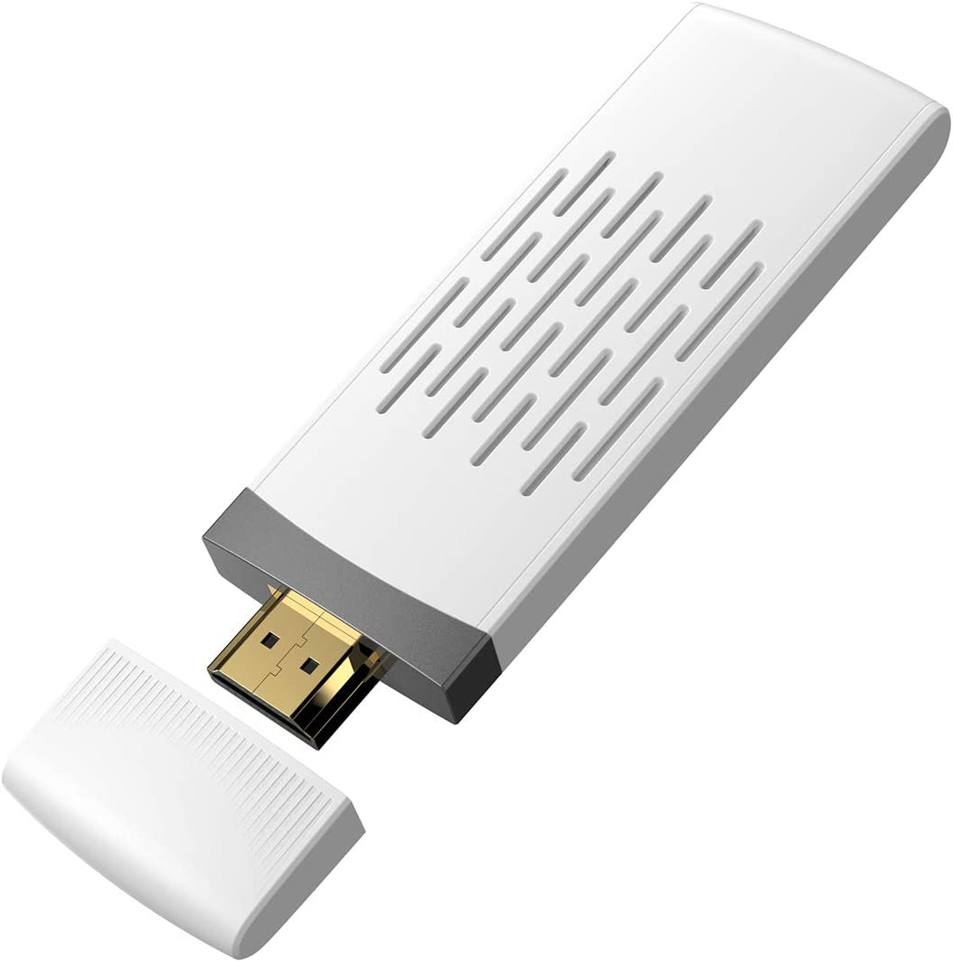 BOMAKER WiFi Display Dongle Inalámbrico, 5GHz+2.4GHz WiFi Adaptador, Receptor Full HD 1080P, Miracast Sincronización de Pantalla para ...