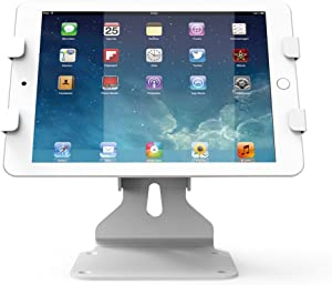 Beelta iPad Stands and Holders for 10.2 iPad 7th, iPad 5th/ 6th, iPad Mini, iPad Air, iPad Pro 9.7/12.9/10.5, Tablets (6.69-10 inch), Key Lock, White, BSC401W