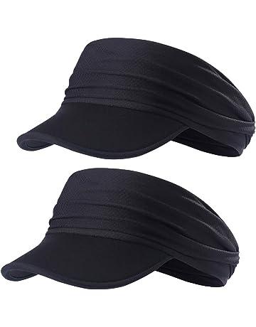5cf189cdee957d Sun Visors for Women - Yoga Headband Outdoor Peaked Golf Cap Headwear Visor  Hat Race Gear