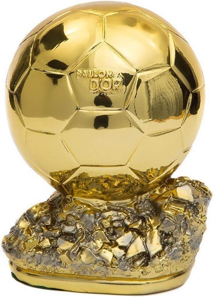 Trofeos Fútbol Balón de Oro, MVP Hollow Soccer Fans Craft Souvenir ...
