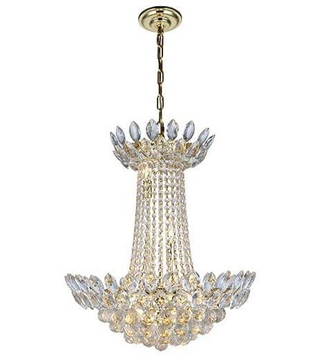 Amazon.com: Elegante iluminación 3002d26/RC Vesper 10 Luz 20 ...