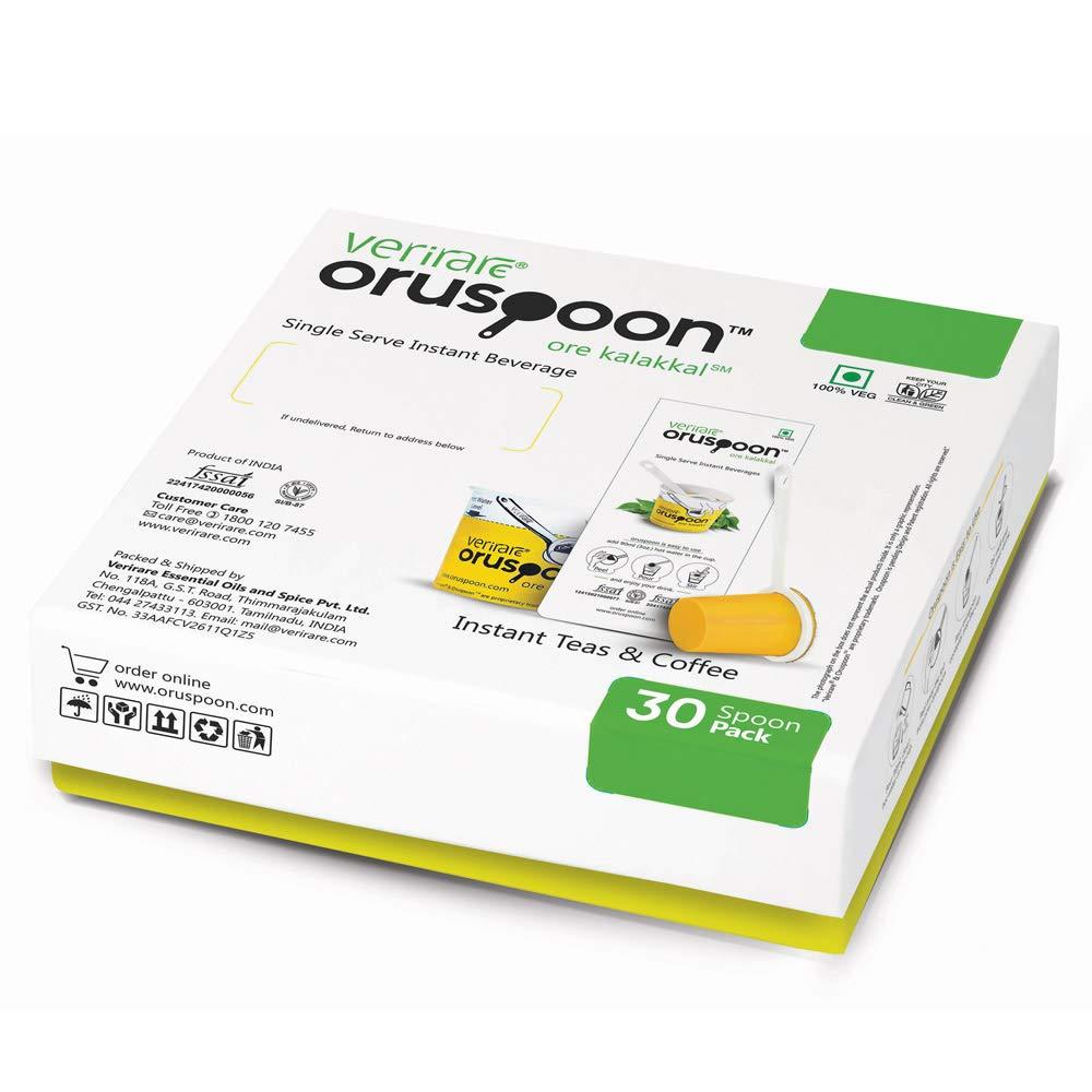 Oruspoon Instant Cardamom Tea (30 Spoon Packs): Amazon in: Grocery