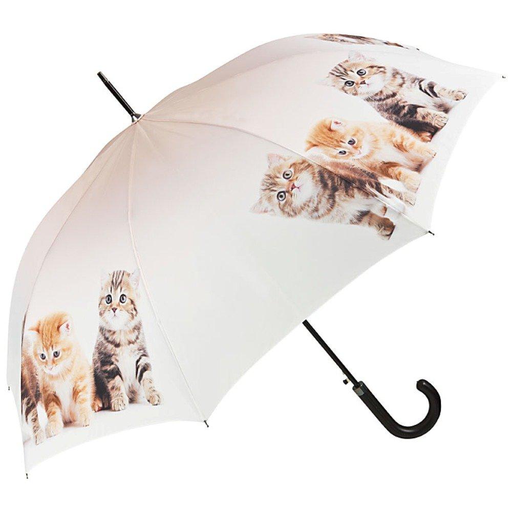 VON LILIENFELD® Parapluie Automatique Femme Motif Trio de chats