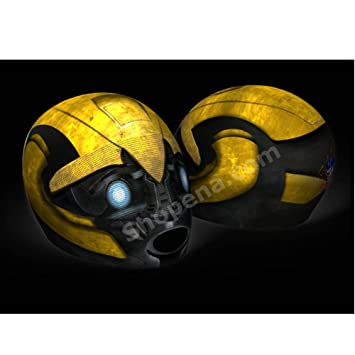 Amazoncom Bumblebee Motorcycle Helmet Cover AND Visor Sticker - Motorcycle helmet face shield decals