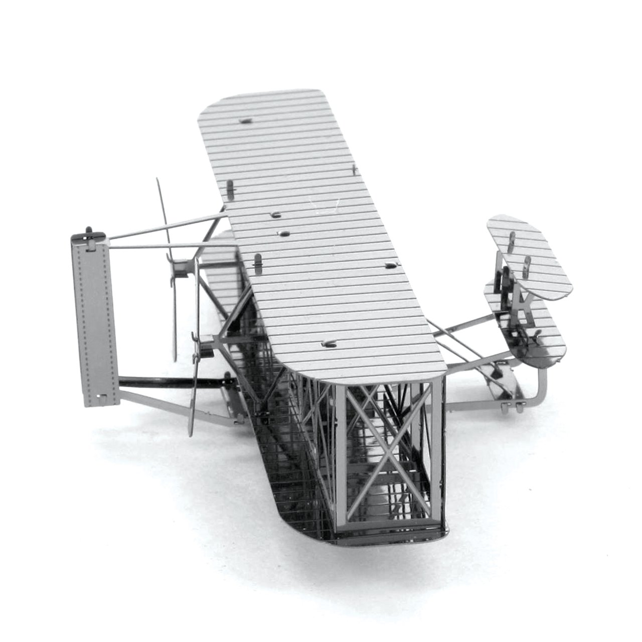 Fascinations Metal Earth Wright Brothers Airplane 3D Metal Model Kit MMS042